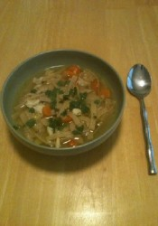 Homemade Chicken Noodle Soup (Chef Beth)