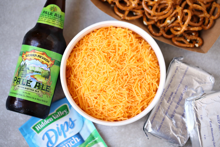 Beer Dip - Easy Party Dip Appetizer - FamilyFreshMeals.com