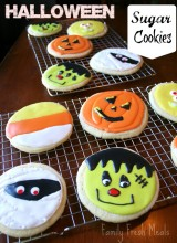 Soft Sugar Cookie Recipe: Halloween Style