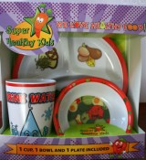 Super Healthy Kids Plate Set Review & Giveaway