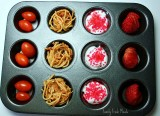 Muffin Meals: Favorite Color Red