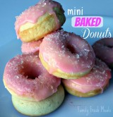 These healthy donuts are a family favorite!