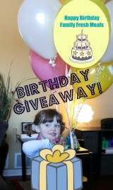 Happy Birthday Family Fresh Meals : GIVEAWAY!!!