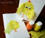 Family Fun: Easter Card & Picture Craft