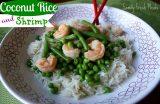 Coconut Basmati Rice Shrimp
