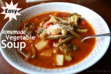 Easy Homemade Vegetable Soup