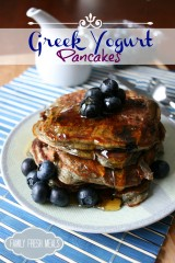Greek Yogurt Pancakes