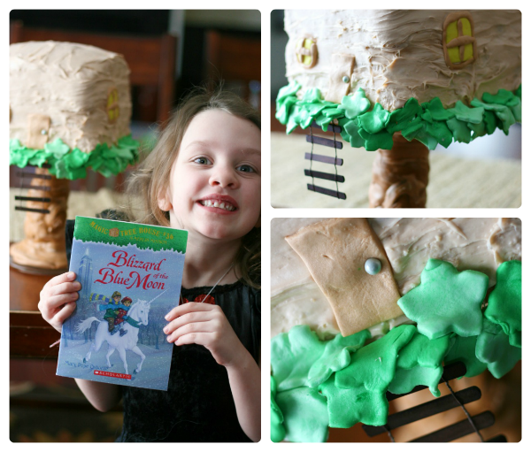 Magic Tree House Bday cake