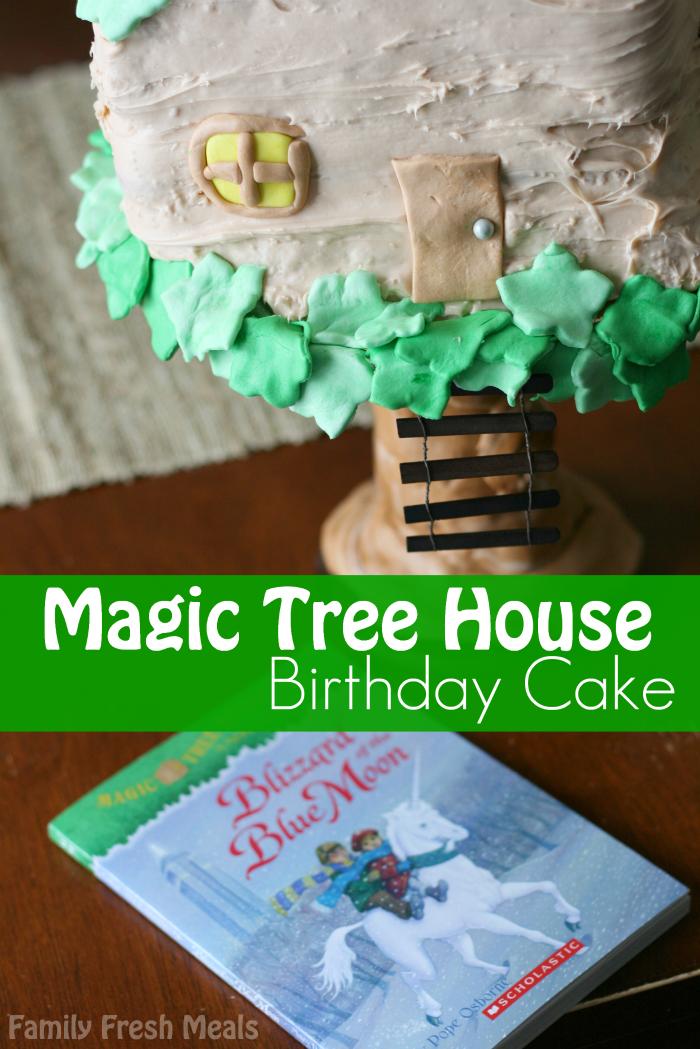 Magic Tree House Birthday Cake - FamilyFreshMeals.com