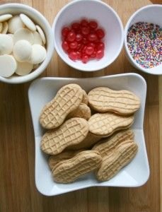 Ice cream cookies ingredients