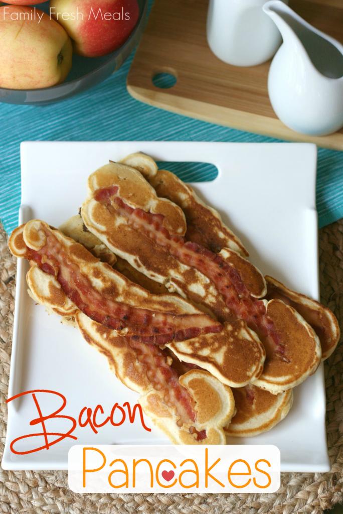 Bacon Pancakes - FamilyFreshMeals.com