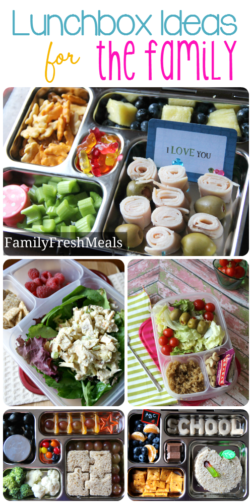 Lunchbox Ideas for the family - Week One