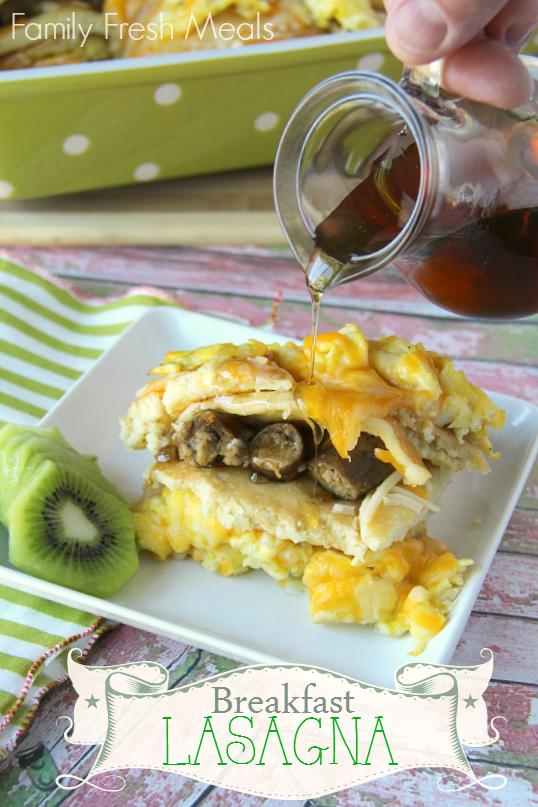 Breakfast Lasagna Casserole - FamilyFreshMeals