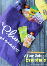 After school essentials with Plum kids and Family Fresh Meals