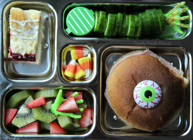 Fun Halloween Food - Lunch Box Ideas - Family Fresh Meals