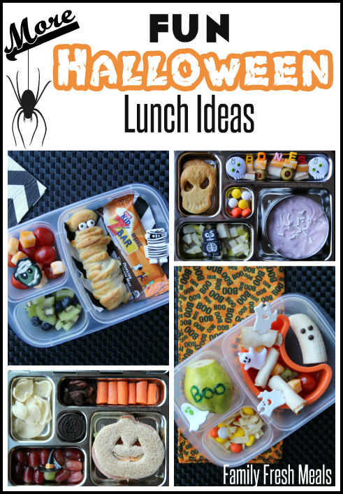 Fun Halloween Lunchbox Ideas for Kids __ Family Fresh Meals