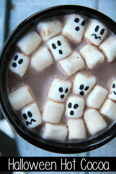 Halloween Hot Cocoa __ FamilyFreshMeals.com