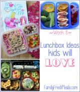 Week 8 Lunchbox Ideas Kids will ove