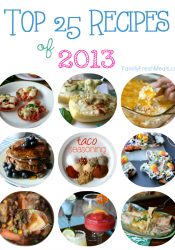 Top 25 Recipes – 2013