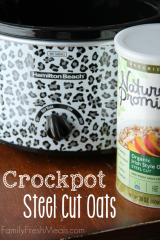 Crockpot Steel Cut Oats