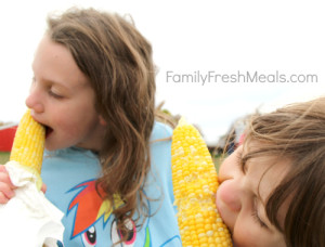 Crockpot corn on the cob - FamilyFreshMeals.com