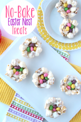 No Bake Easter Nest Treats - FamilyFreshMeals.com
