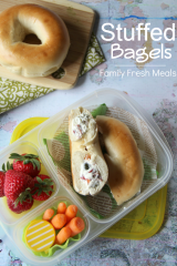 Stuffed Bagel Sandwiches