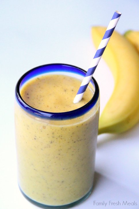 how to make a mango smoothie with fresh mango