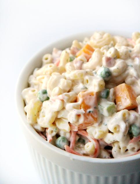Creamy Ranch Pasta Salad - wanna bite