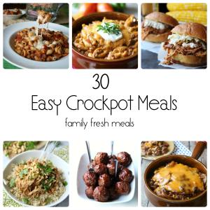 Family crock pot recipes easy