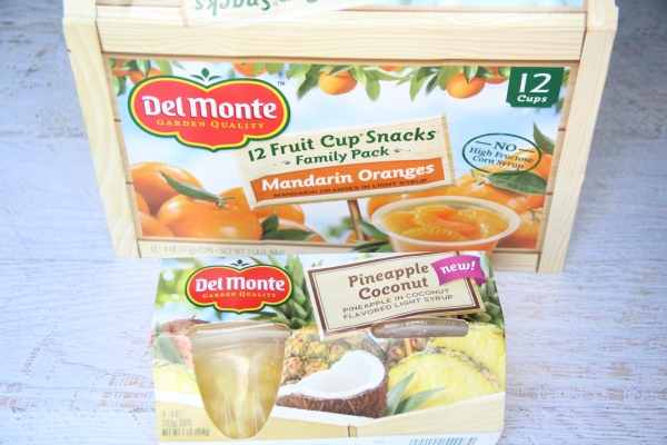 Back to school with del monte - Family Fresh Meals - back to school lunch and snacks