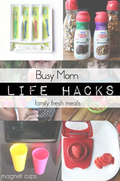 busy mom life hacks   family fresh meals