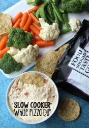 Slow Cooker White Pizza Dip