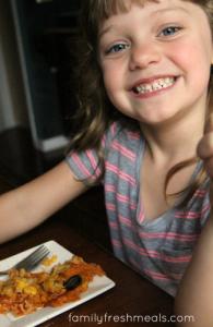 Cheesy Chicken Enchilada Casserole - FamilyFreshMeals.com