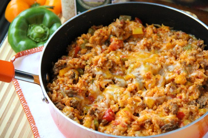 One Pot Stuffed Pepper CasseroleFamily Fresh Meals