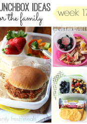 School and Work Lunchbox Ideas -week 17