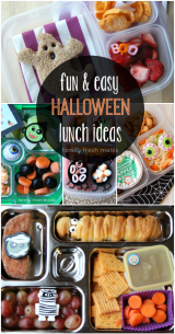 Fun Halloween Lunch Box Ideas - FamilyFreshMeals.com - Fun and easy!