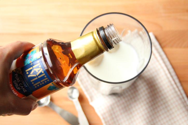 Salted Caramel Smoothie - Step 1