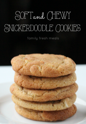 Soft and Chewy Double Chip Snickerdoodle Cookies
