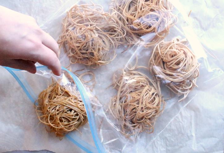 How To Freeze Pasta Portions - FamilyFreshMeals.com - Step 3