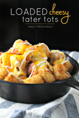 Loaded Cheesy Tater Tots