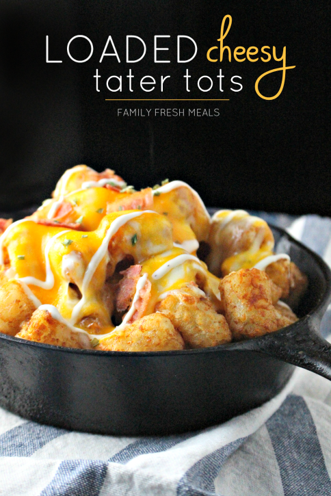 Tater Tots . They start from something so plain and ordinary, a potato ...