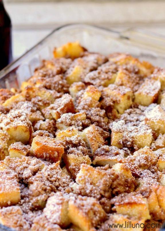 Impossibly Easy Banana Bread Coffee Cake || Betty Crocker