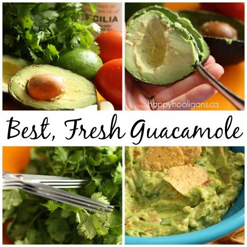 Best Fresh Guacamole Recipe