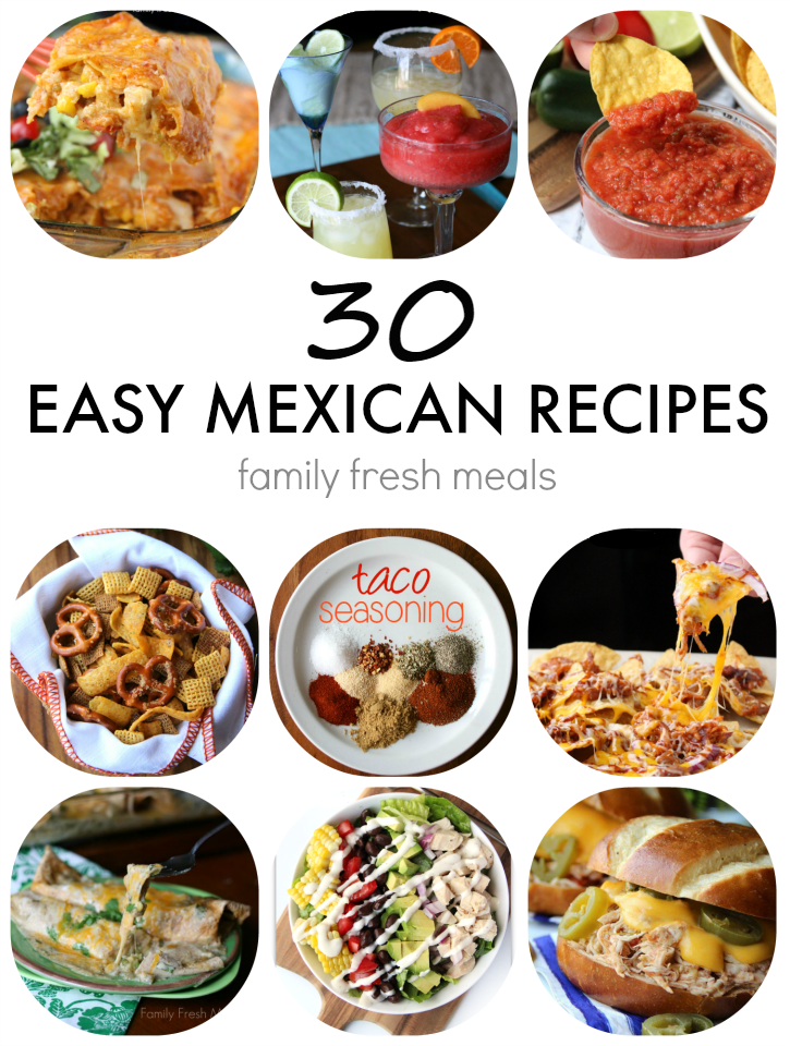 Mexican dishes recipes easy