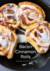 Bacon Wrapped Cinnamon Rolls