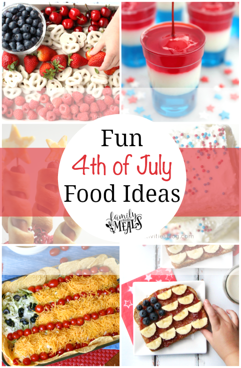 Fun 4th of July Food Ideas -- FamilyFreshMeals.com