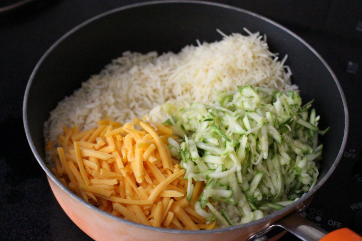One Pot Cheesy Zucchini Rice - Step 4