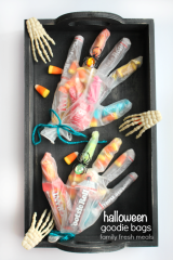 Creepy Halloween Goodie Bags