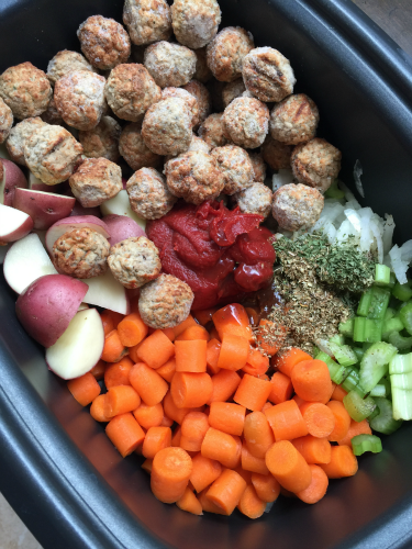 Easy Crockpot Meatball StewFamily Fresh Meals